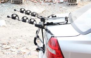 Cykelhållare utan krav på dragkrok